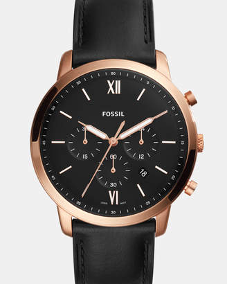 Fossil Neutra Black Chronograph Watch