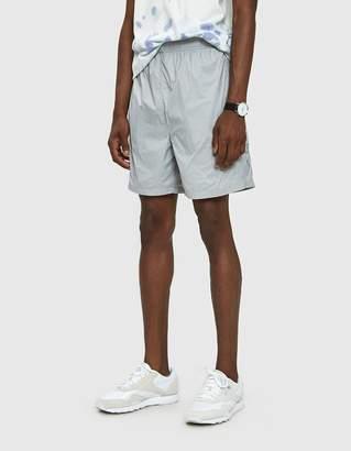 Stussy Sport Nylon Short in Grey