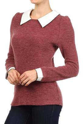Freeway Apparel Collared Sweater $56 thestylecure.com