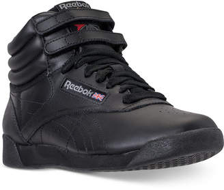 0f9eb91d3b09 Reebok Women Freestyle High Top Casual Sneakers from Finish Line