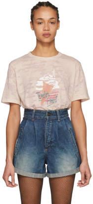 Saint Laurent Pink Tender Heart T-Shirt