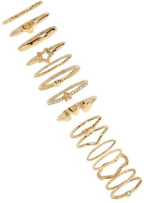 Forever 21 Heart Stackable Ring Set