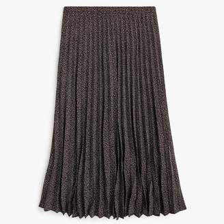 J.Crew Pleated midi skirt in party dot