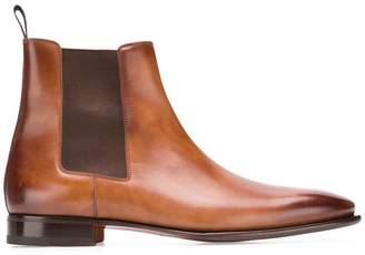 Santoni slip-on ankle boots