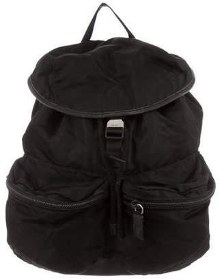 564c3ec623f9 Prada Tessuto Drawstring Backpack