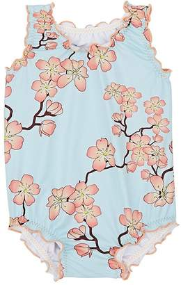 Submarine INFANTS' CHERRY-BLOSSOM ONE-PIECE SWIMSUIT