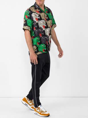 Gucci Panther face bowling shirt