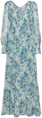Zimmermann Whitewave Shirred Dress