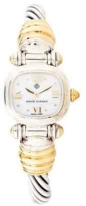 David Yurman Cable Watch