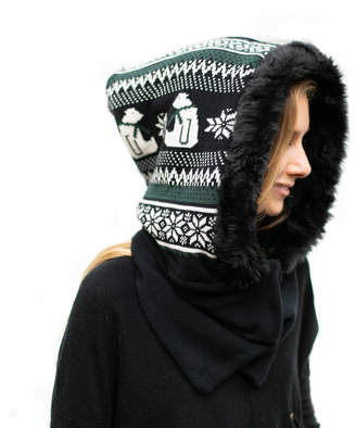 Wild Mantle Arctic Janey Hooded Scarf