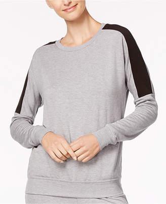 Alfani Colorblocked Pajama Top, Created for Macy's
