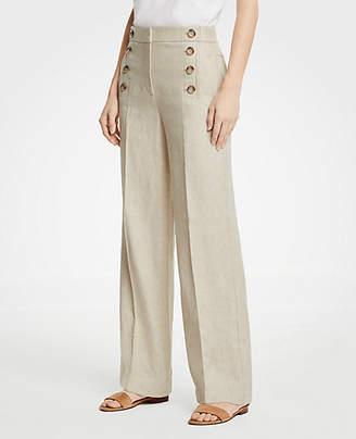 Ann Taylor Wide Leg Sailor Pants