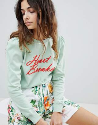 Soaked in Luxury Soaked In Luxury Slogan Sweatshirt