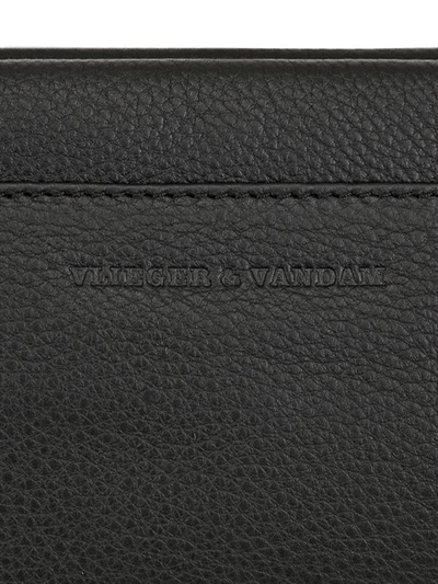 Germ Guardian Guardian Angel Embossed Leather Clutch