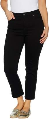 Denim & Co. Color Stretch Denim 5-Pocket Crop Pants
