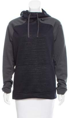 Nike Logo-Accented Hooded Sweatshirt