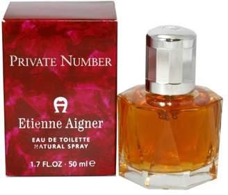 Etienne Aigner Private Number by for Women Eau De toilette Spray, 1.7-Ounce