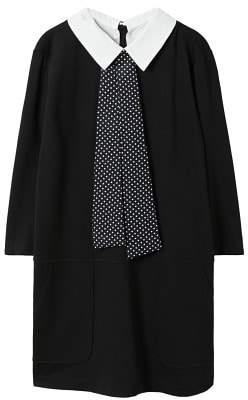 Violeta BY MANGO Shirt collar dress