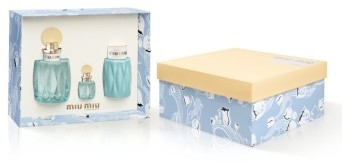 Miu MiuMiu Miu L'Eau Bleue Set (Limited Edition) ($165 Value)