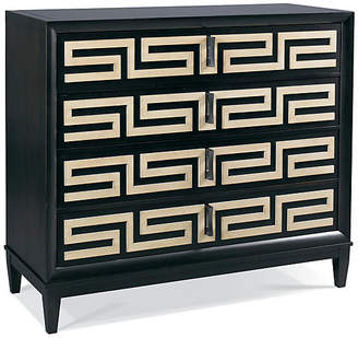Hickory White Classic Modern Greek Chest - Espresso