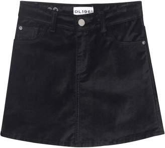 DL1961 Jenny Velvet Skirt