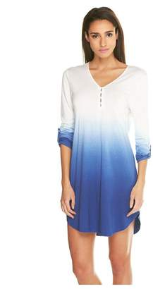 Cosabella Bella Ombre Long Sleeve Chemise