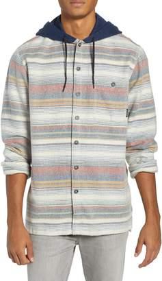 Billabong Baja Hooded Flannel Shirt
