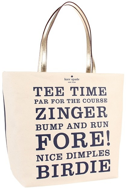Kate Spade Daytripper Bon Shopper (Tee Time) - Bags and Luggage