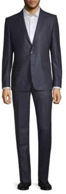 Versace Wool & Silk Two-Piece Suit