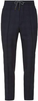 Brunello Cucinelli Check Leisure Fit Trousers