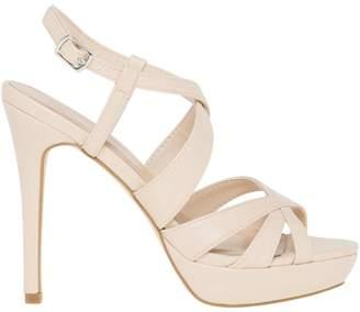 Le Château Women's Criss-Cross Platform Sandal