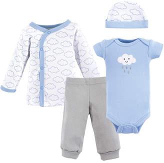Baby Vision Luvable Friends Preemie Pants, Bodysuits, Shirt, Cap, 4-Piece Set, Premie