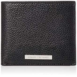 Armani Exchange Logo Credit Card, Men's Wallet, , 9.8000000000000007x1.8x11.2 cm (B x H T)
