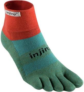 Coolmax Injinji Trail Midweight Mini-Crew Sock - Women's