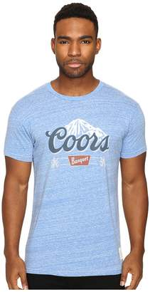 Original Retro Brand The Short Sleeve Tri-Blend Coors Tee Men's T Shirt
