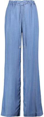 MICHAEL Michael Kors Chambray Wide-Leg Pants