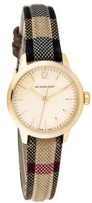 Burberry Swiss Honey Check Watch