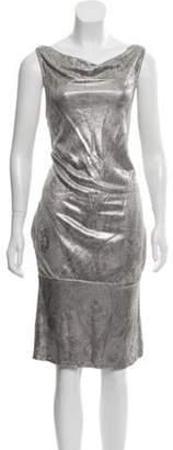 Diane von Furstenberg Sleeveless Scoop Neck Dress Sleeveless Scoop Neck Dress