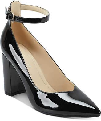 Marc Fisher Gilla Ankle-Strap Pumps Women Shoes