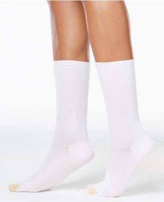 Gold Toe Women 3-Pk. Non-Binding Short Crew Socks, also available in Extended Sizes