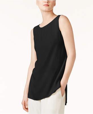 Eileen Fisher System Silk High-Low Tunic, Regular & Petite