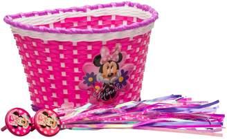 Bell Disney's Minnie Mouse Girls Bike Basket & Streamers Set