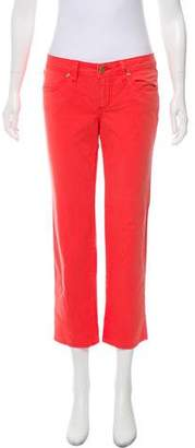 Tory Burch Low-Rise Jeans