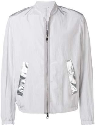 Neil Barrett block stripe bomber jacket