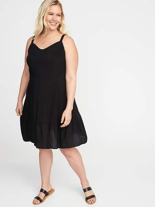 Old Navy Plus-Size Fit & Flare Tiered Cami Dress