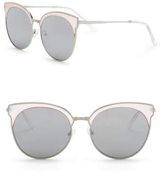 Quay Mia Bella 57mm Clubmaster Sunglasses