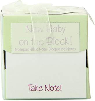 Kate Aspen Kateaspen Take Note New Baby On The Block Sticky Notes