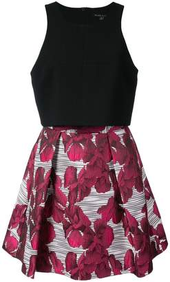Black Halo flora print dress