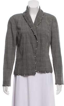 Christian Dior Wool Shawl-Lapel Blazer