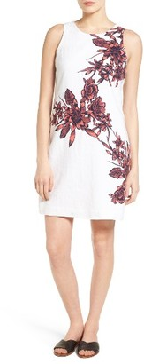 Women's Tommy Bahama Floral Print Linen Shift Dress $148 thestylecure.com